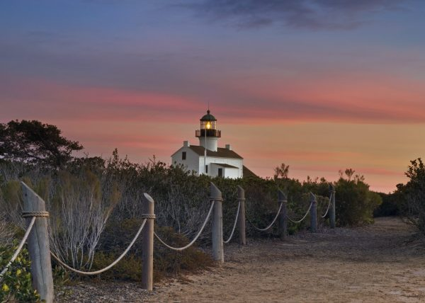 Old Point Loma Light House San Diego