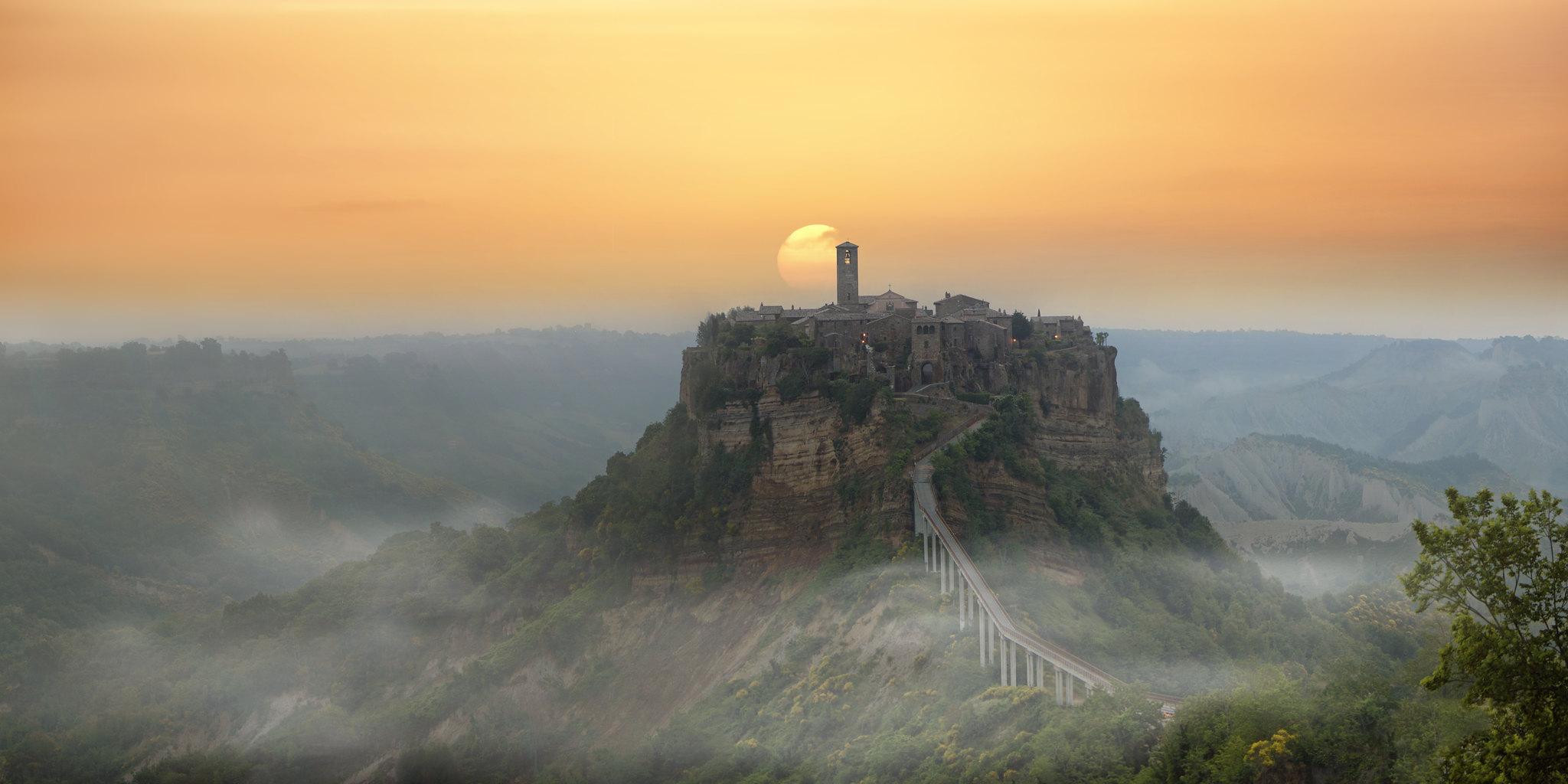 Civita di Bagnoregio Umbria Italy