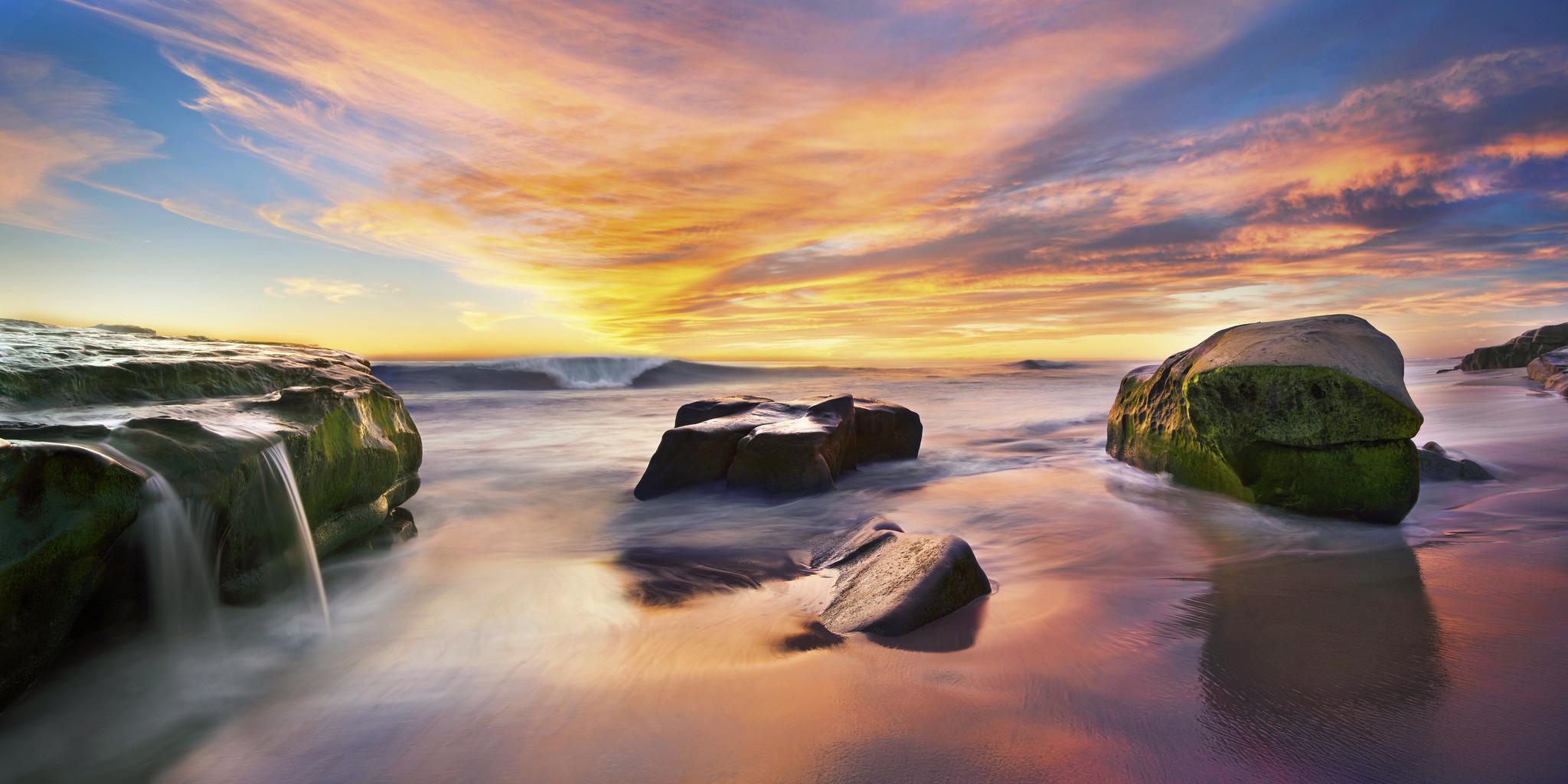 Windansea Beach La Jolla California
