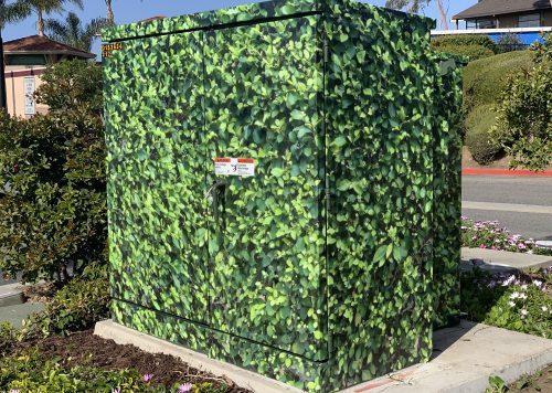Utility Box Wrap